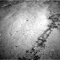 Nasa's Mars rover Curiosity acquired this image using its Left Navigation Camera on Sol 672, at drive 1554, site number 37