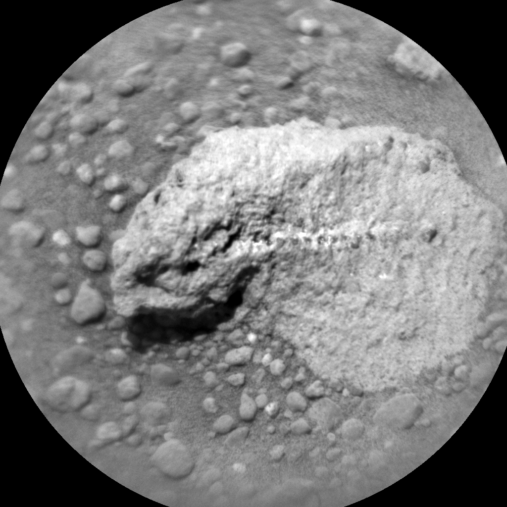 Nasa's Mars rover Curiosity acquired this image using its Chemistry & Camera (ChemCam) on Sol 672, at drive 1542, site number 37