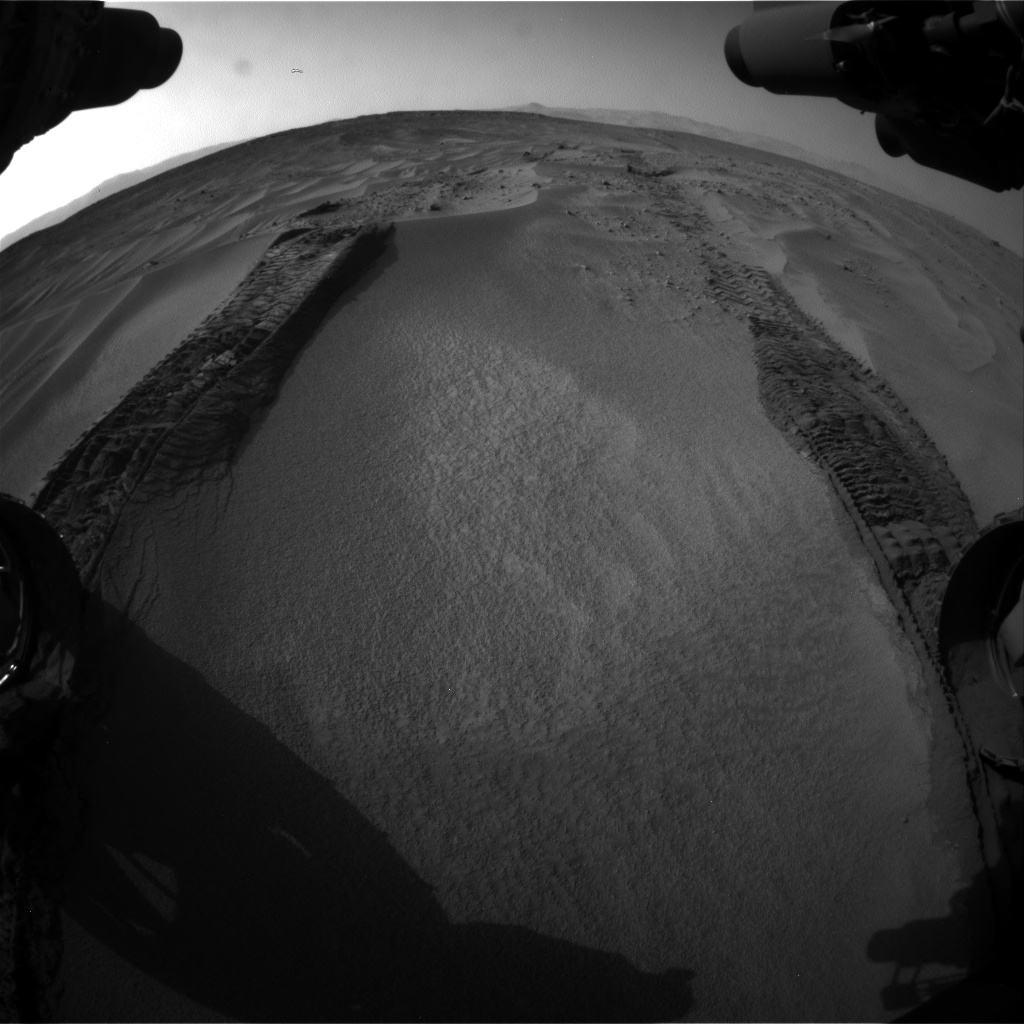 Nasa's Mars rover Curiosity acquired this image using its Front Hazard Avoidance Camera (Front Hazcam) on Sol 674, at drive 12, site number 38