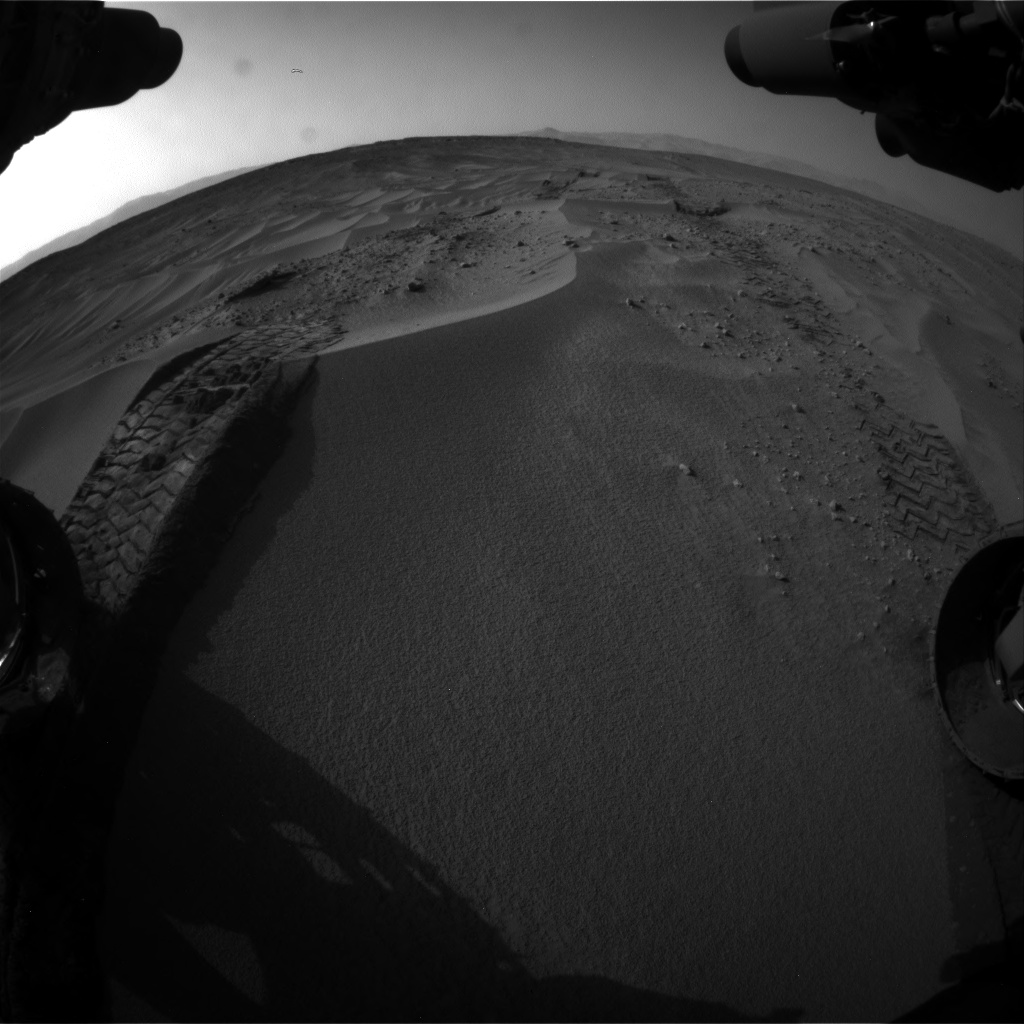 Nasa's Mars rover Curiosity acquired this image using its Front Hazard Avoidance Camera (Front Hazcam) on Sol 674, at drive 24, site number 38