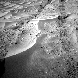 Nasa's Mars rover Curiosity acquired this image using its Left Navigation Camera on Sol 674, at drive 18, site number 38