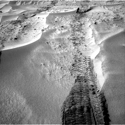 Nasa's Mars rover Curiosity acquired this image using its Right Navigation Camera on Sol 674, at drive 6, site number 38