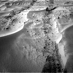 Nasa's Mars rover Curiosity acquired this image using its Right Navigation Camera on Sol 674, at drive 12, site number 38