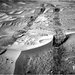 Nasa's Mars rover Curiosity acquired this image using its Right Navigation Camera on Sol 674, at drive 42, site number 38