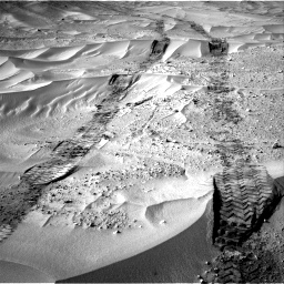 Nasa's Mars rover Curiosity acquired this image using its Right Navigation Camera on Sol 674, at drive 48, site number 38