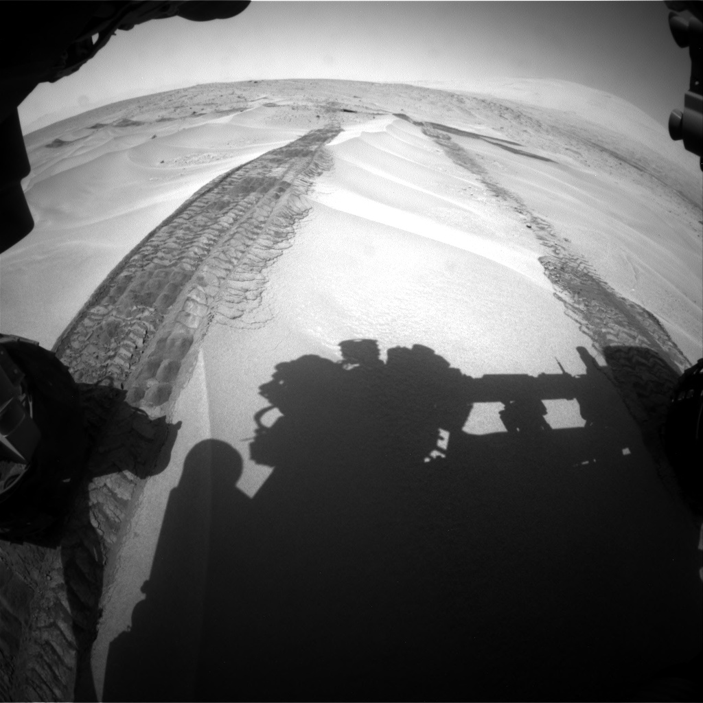 Nasa's Mars rover Curiosity acquired this image using its Front Hazard Avoidance Camera (Front Hazcam) on Sol 676, at drive 148, site number 38