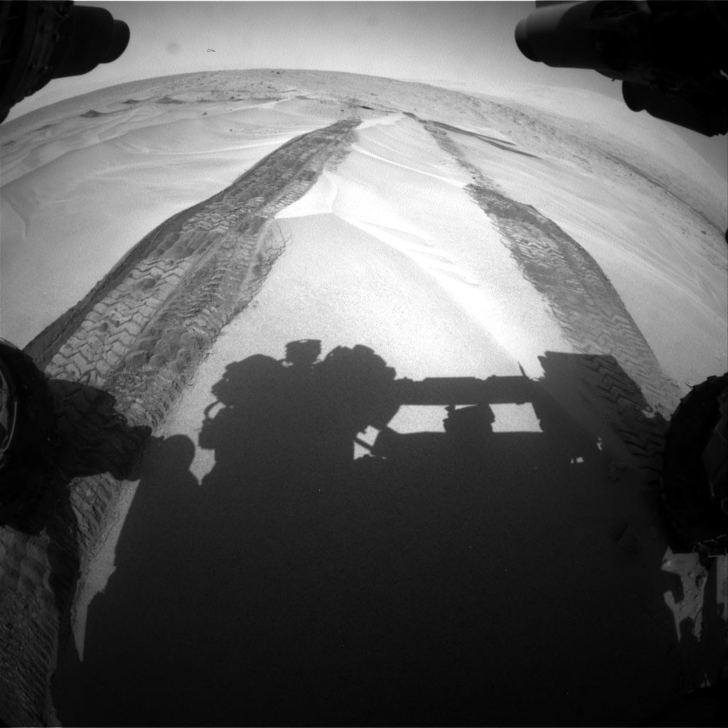 Nasa's Mars rover Curiosity acquired this image using its Front Hazard Avoidance Camera (Front Hazcam) on Sol 676, at drive 172, site number 38