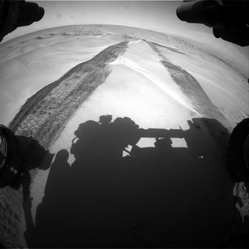 Nasa's Mars rover Curiosity acquired this image using its Front Hazard Avoidance Camera (Front Hazcam) on Sol 676, at drive 178, site number 38