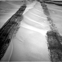 Nasa's Mars rover Curiosity acquired this image using its Left Navigation Camera on Sol 676, at drive 166, site number 38