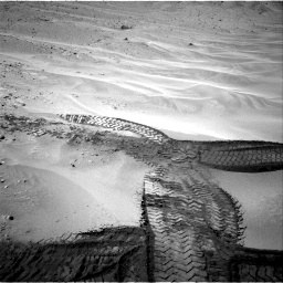 Nasa's Mars rover Curiosity acquired this image using its Right Navigation Camera on Sol 676, at drive 88, site number 38