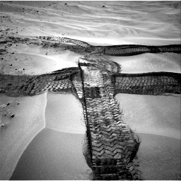 Nasa's Mars rover Curiosity acquired this image using its Right Navigation Camera on Sol 676, at drive 100, site number 38