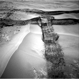 Nasa's Mars rover Curiosity acquired this image using its Right Navigation Camera on Sol 676, at drive 112, site number 38