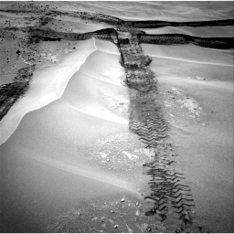 Nasa's Mars rover Curiosity acquired this image using its Right Navigation Camera on Sol 676, at drive 130, site number 38