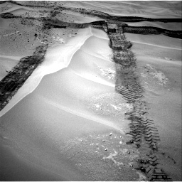 Nasa's Mars rover Curiosity acquired this image using its Right Navigation Camera on Sol 676, at drive 136, site number 38