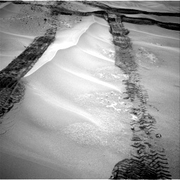 Nasa's Mars rover Curiosity acquired this image using its Right Navigation Camera on Sol 676, at drive 148, site number 38