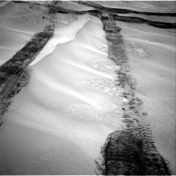 Nasa's Mars rover Curiosity acquired this image using its Right Navigation Camera on Sol 676, at drive 154, site number 38