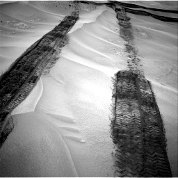 Nasa's Mars rover Curiosity acquired this image using its Right Navigation Camera on Sol 676, at drive 178, site number 38