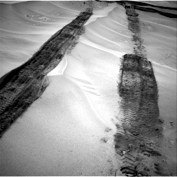 Nasa's Mars rover Curiosity acquired this image using its Right Navigation Camera on Sol 676, at drive 190, site number 38