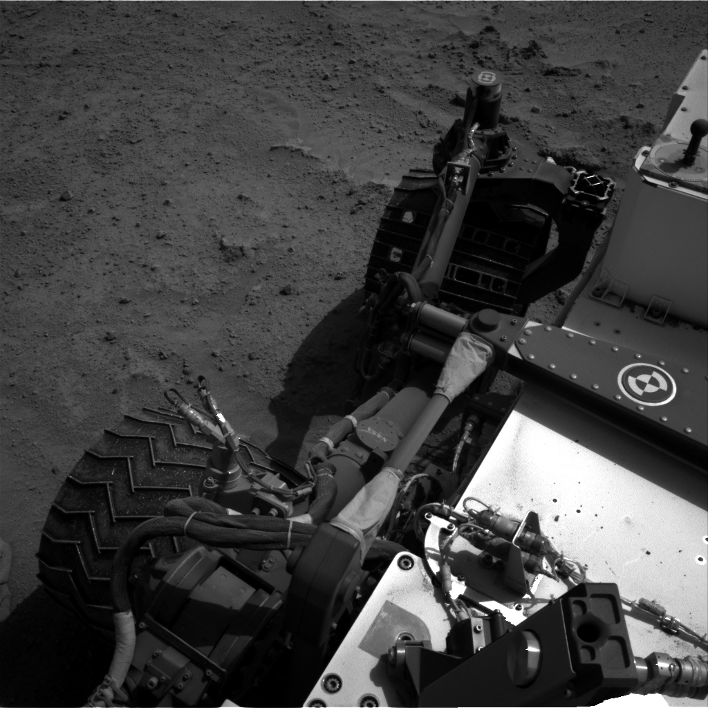 Nasa's Mars rover Curiosity acquired this image using its Right Navigation Camera on Sol 676, at drive 202, site number 38