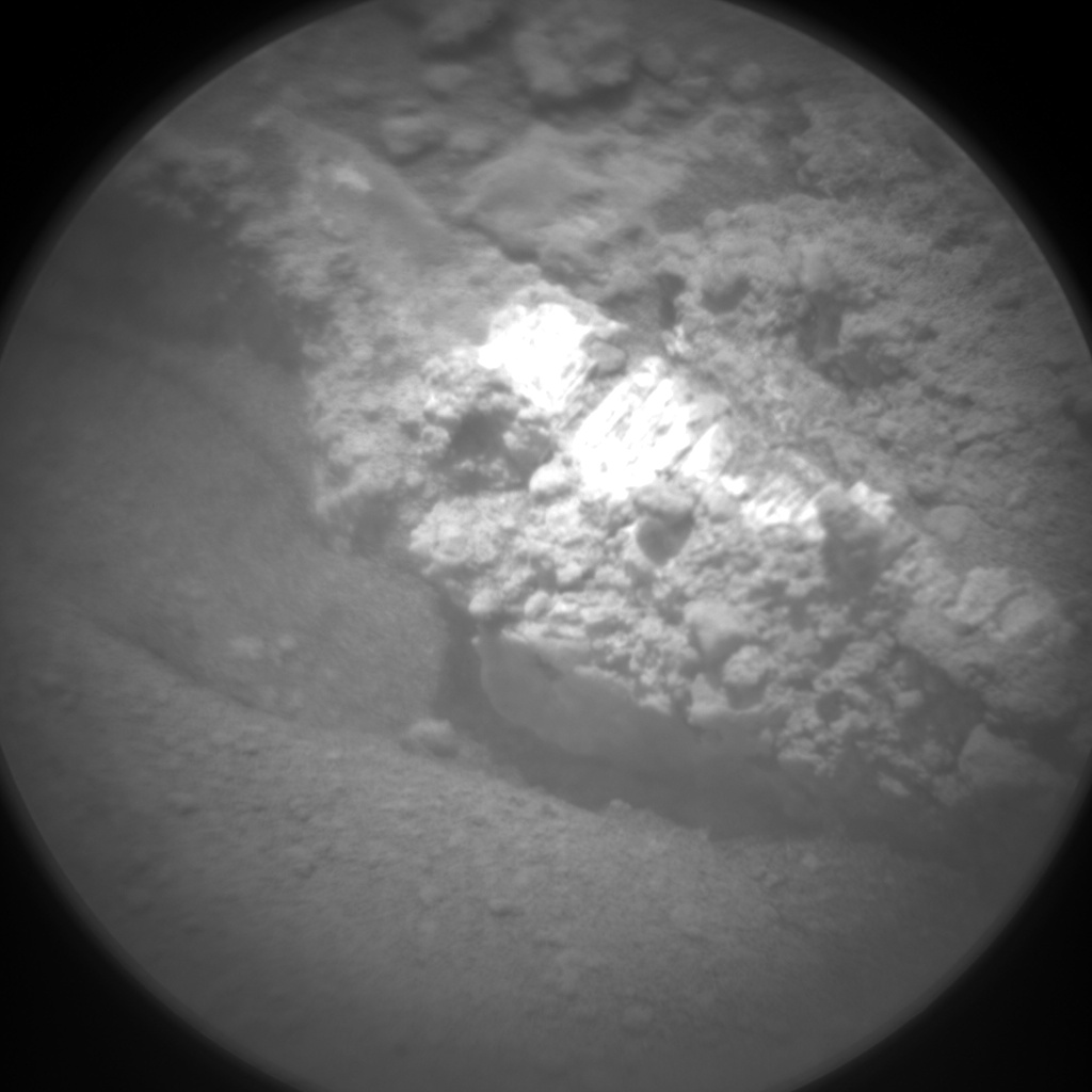 Nasa's Mars rover Curiosity acquired this image using its Chemistry & Camera (ChemCam) on Sol 677, at drive 202, site number 38