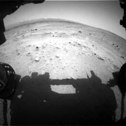 Nasa's Mars rover Curiosity acquired this image using its Front Hazard Avoidance Camera (Front Hazcam) on Sol 677, at drive 316, site number 38