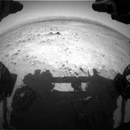 Nasa's Mars rover Curiosity acquired this image using its Front Hazard Avoidance Camera (Front Hazcam) on Sol 677, at drive 334, site number 38