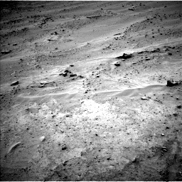 Nasa's Mars rover Curiosity acquired this image using its Left Navigation Camera on Sol 677, at drive 208, site number 38