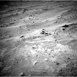 Nasa's Mars rover Curiosity acquired this image using its Left Navigation Camera on Sol 677, at drive 214, site number 38