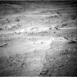 Nasa's Mars rover Curiosity acquired this image using its Right Navigation Camera on Sol 677, at drive 244, site number 38