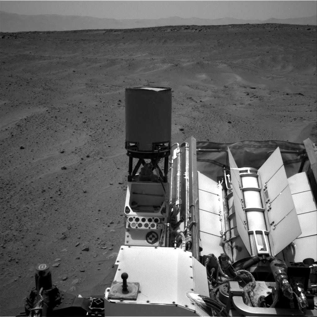 Nasa's Mars rover Curiosity acquired this image using its Right Navigation Camera on Sol 677, at drive 338, site number 38