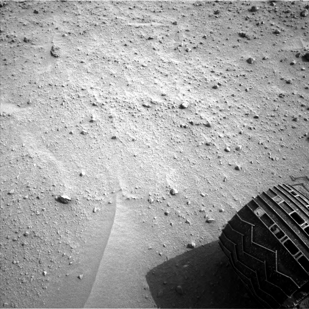 Nasa's Mars rover Curiosity acquired this image using its Left Navigation Camera on Sol 679, at drive 816, site number 38
