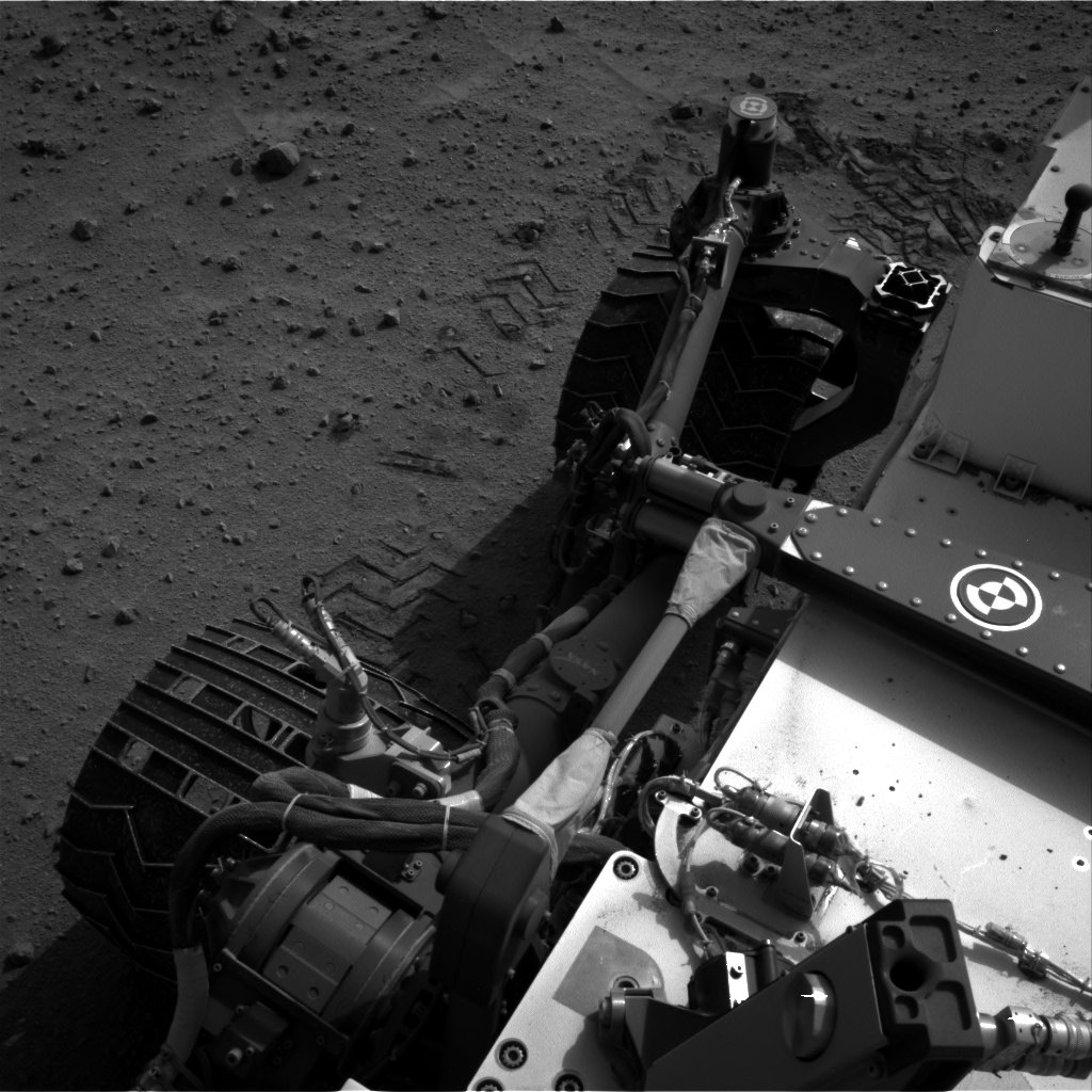 Nasa's Mars rover Curiosity acquired this image using its Right Navigation Camera on Sol 679, at drive 816, site number 38