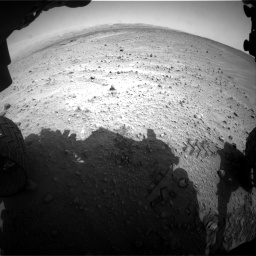 Nasa's Mars rover Curiosity acquired this image using its Front Hazard Avoidance Camera (Front Hazcam) on Sol 683, at drive 1206, site number 38