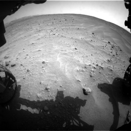 Nasa's Mars rover Curiosity acquired this image using its Front Hazard Avoidance Camera (Front Hazcam) on Sol 683, at drive 1260, site number 38