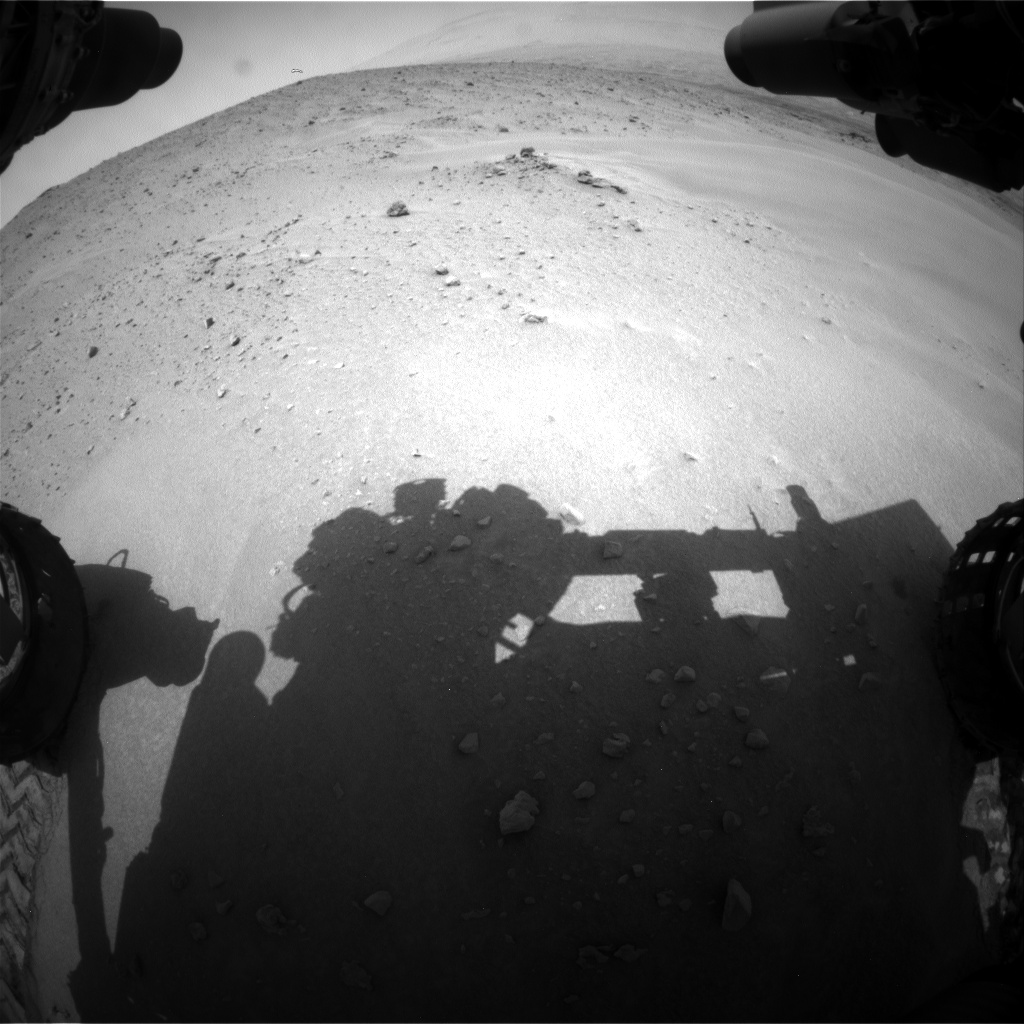 Nasa's Mars rover Curiosity acquired this image using its Front Hazard Avoidance Camera (Front Hazcam) on Sol 683, at drive 930, site number 38