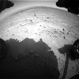 Nasa's Mars rover Curiosity acquired this image using its Front Hazard Avoidance Camera (Front Hazcam) on Sol 683, at drive 1218, site number 38