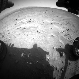 Nasa's Mars rover Curiosity acquired this image using its Front Hazard Avoidance Camera (Front Hazcam) on Sol 683, at drive 1236, site number 38