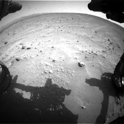 Nasa's Mars rover Curiosity acquired this image using its Front Hazard Avoidance Camera (Front Hazcam) on Sol 683, at drive 1254, site number 38