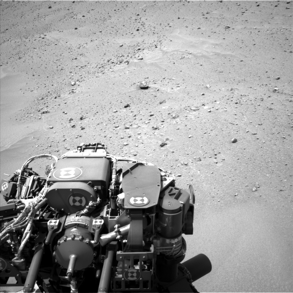 Nasa's Mars rover Curiosity acquired this image using its Left Navigation Camera on Sol 683, at drive 918, site number 38