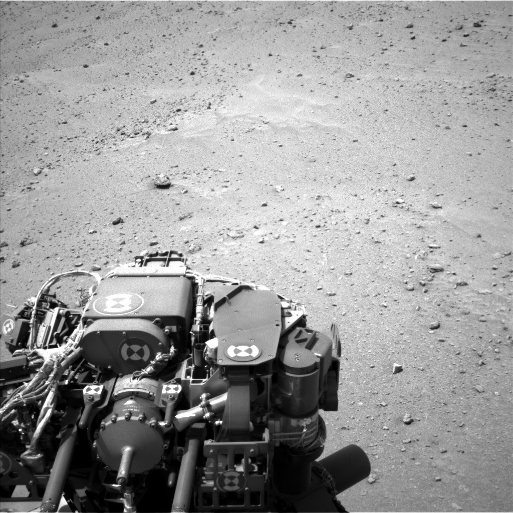 Nasa's Mars rover Curiosity acquired this image using its Left Navigation Camera on Sol 683, at drive 930, site number 38