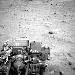 Nasa's Mars rover Curiosity acquired this image using its Left Navigation Camera on Sol 683, at drive 1248, site number 38