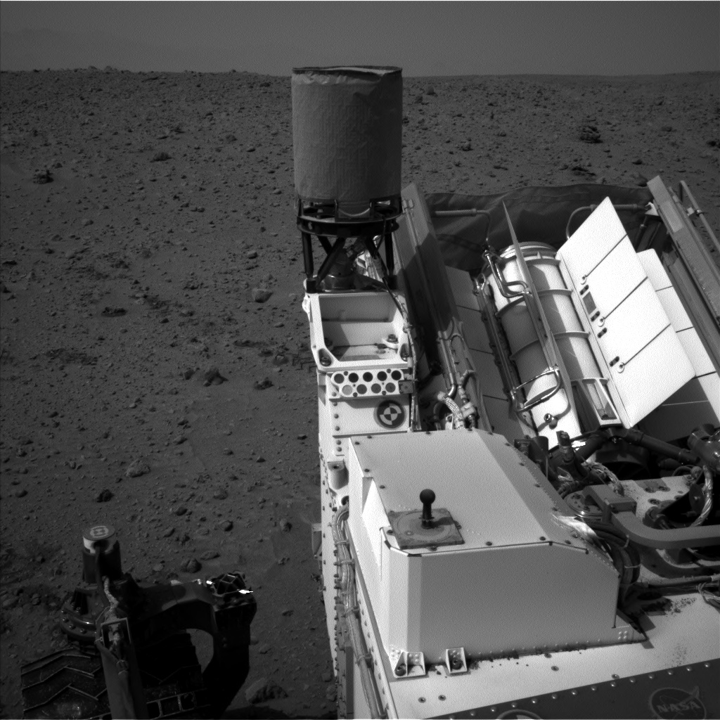Nasa's Mars rover Curiosity acquired this image using its Left Navigation Camera on Sol 683, at drive 1266, site number 38