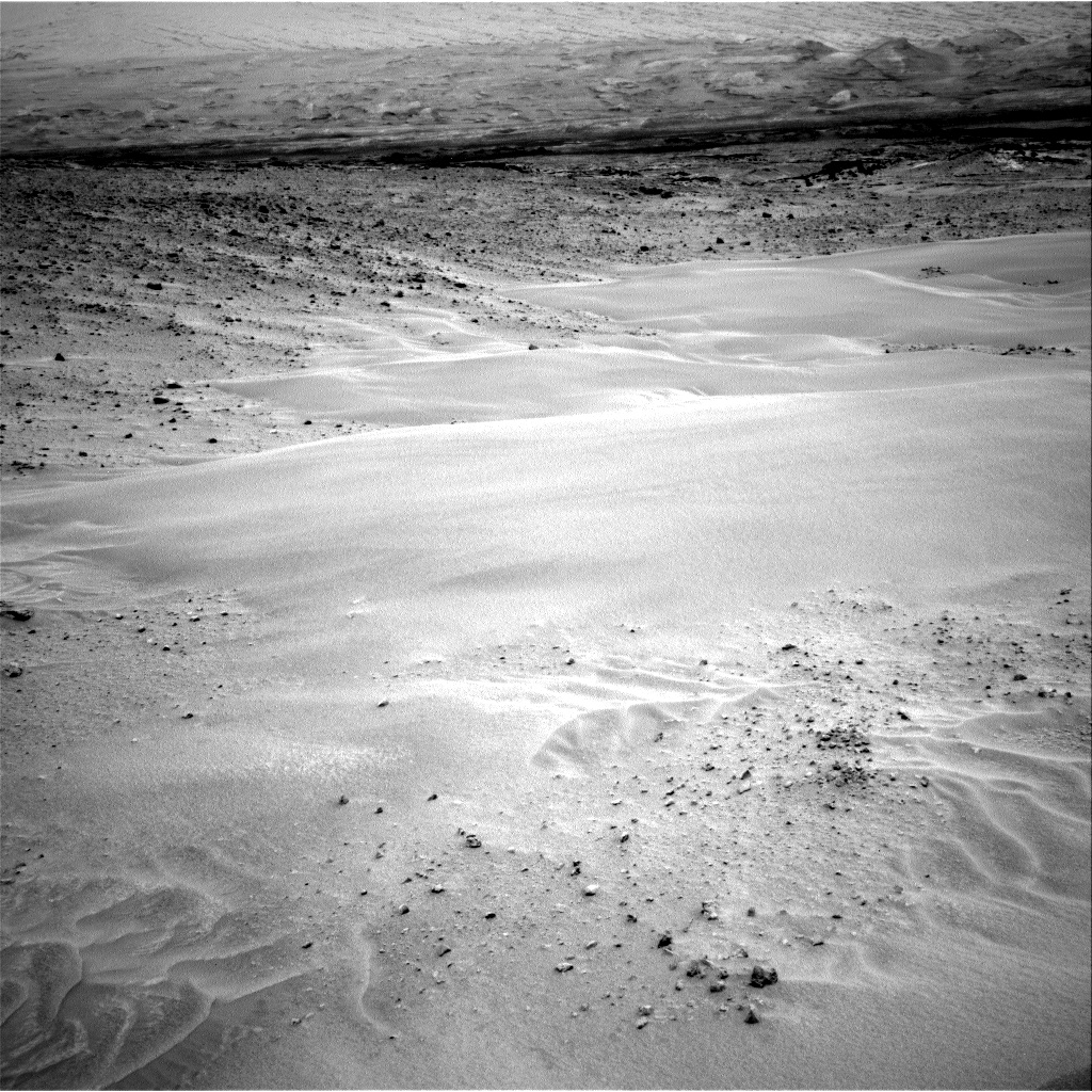 Nasa's Mars rover Curiosity acquired this image using its Right Navigation Camera on Sol 683, at drive 876, site number 38