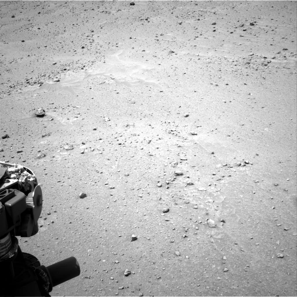 Nasa's Mars rover Curiosity acquired this image using its Right Navigation Camera on Sol 683, at drive 936, site number 38