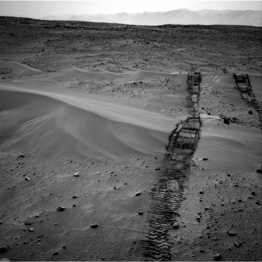 Nasa's Mars rover Curiosity acquired this image using its Right Navigation Camera on Sol 683, at drive 1062, site number 38