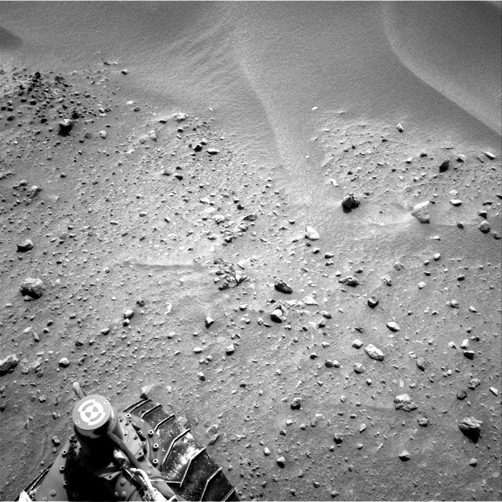 Nasa's Mars rover Curiosity acquired this image using its Right Navigation Camera on Sol 683, at drive 1266, site number 38