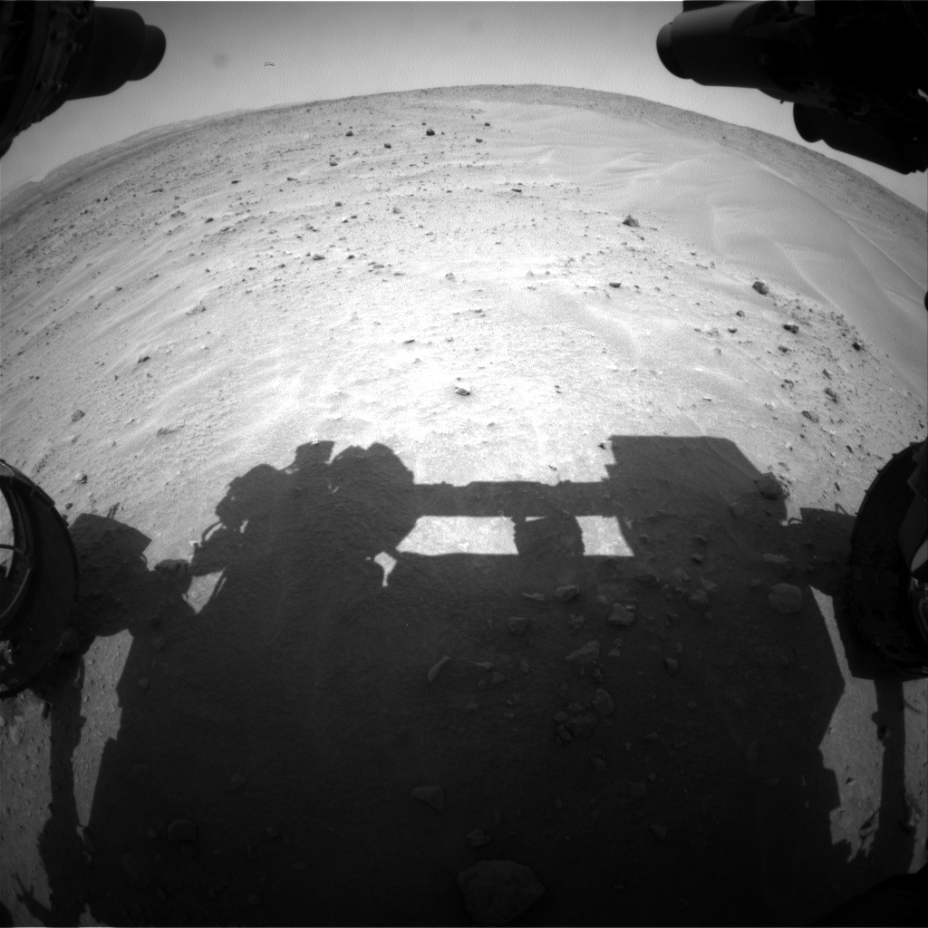 Nasa's Mars rover Curiosity acquired this image using its Front Hazard Avoidance Camera (Front Hazcam) on Sol 684, at drive 1266, site number 38