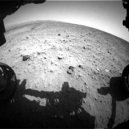 Nasa's Mars rover Curiosity acquired this image using its Front Hazard Avoidance Camera (Front Hazcam) on Sol 685, at drive 1590, site number 38