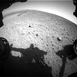 Nasa's Mars rover Curiosity acquired this image using its Front Hazard Avoidance Camera (Front Hazcam) on Sol 685, at drive 1728, site number 38