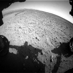 Nasa's Mars rover Curiosity acquired this image using its Front Hazard Avoidance Camera (Front Hazcam) on Sol 685, at drive 1746, site number 38